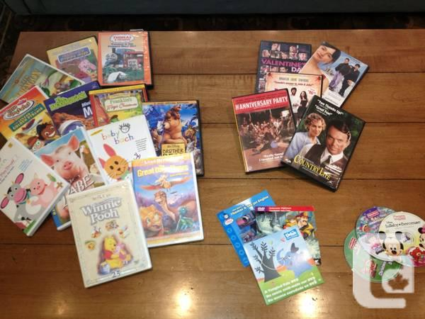 DVD collection for Kids - $30