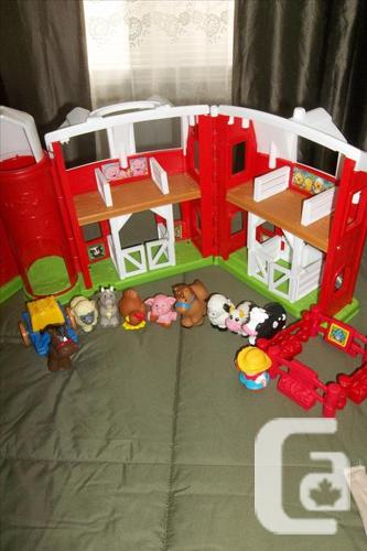 Each!  I have 2 Fisher Price farm with animals,farmer
