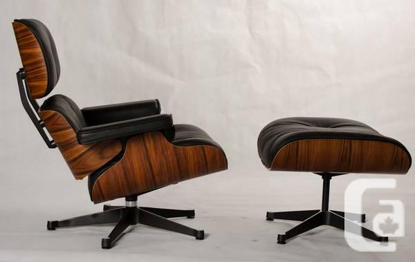 Eames Lounge Chair and Ottoman authentic reproduction -
