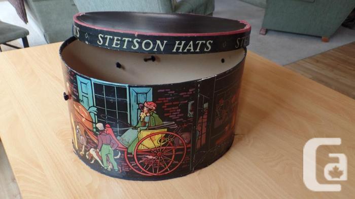 7cf9278b2a443b Early 1940's Vintage Stetson Hat Box Early Mens Ladies Dress ...