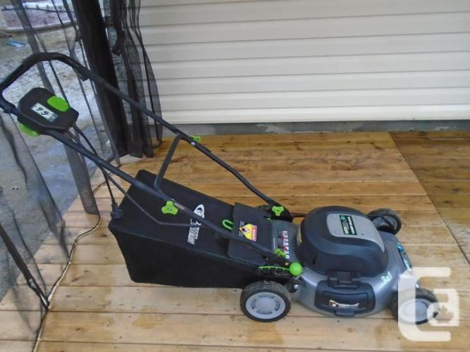 """EARTHWISE 20"""" 12 AMP 3 IN 1 ELECTRIC LAWNMOWER"""