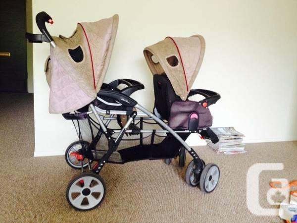 eddie bauer double stroller 60 8991898