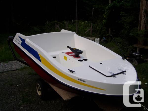 electric boat for sale, without trailer - for sale in