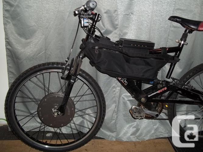 Electric Mountain Bike 37V/3600W ( Double Suspension )