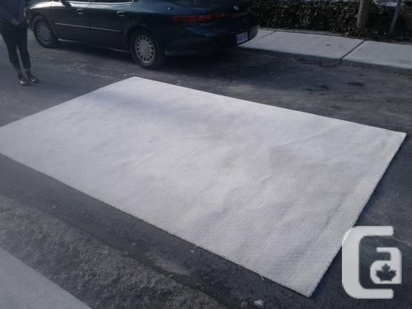 ELTE wool rug, (off) white 8x12 - $100