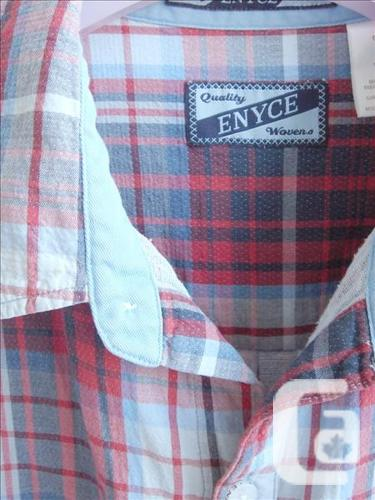 Enyce - Blue/Red Plaid Short Sleeve Shirt