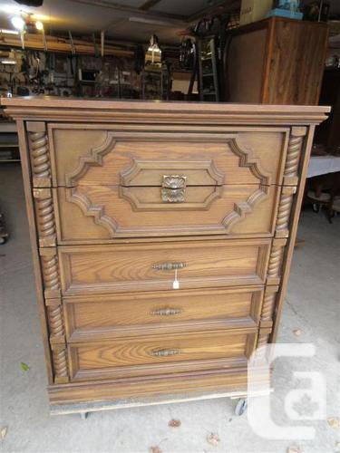 ESTATE FIVE DRAWER CHEST OF DRAWERS