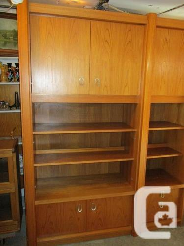 ESTATE MULTI PURPOSE TEAK BAR/SHELVING UNIT