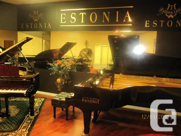 Estonia grand pianos: