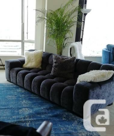 European Grey Couch / Sofa