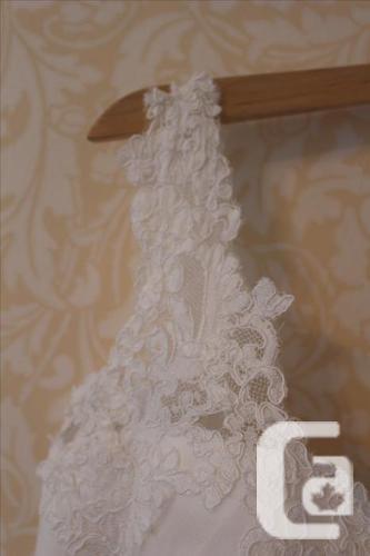 European Wedding Dress  Sz4