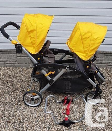 Excellent condition Contours Tandem LT Double Stroller