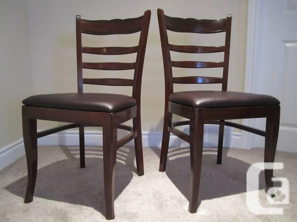 Excellent condition, dining chairs set - $50