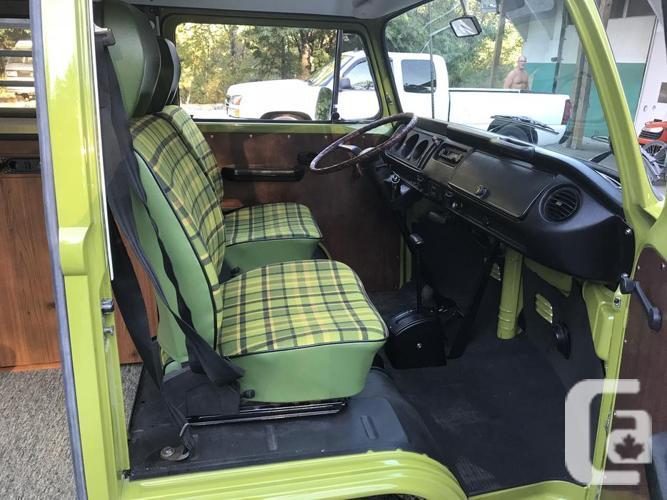 Extraordinary 1977 sage green Westfalia automatic