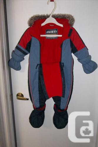 Extremely warm Gusti snowsuit for boy 24mths in mint