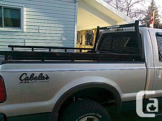 F350/ Custom and 250 Backrack Siderails to Complement