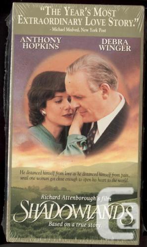 Factory Sealed VHS Shadowlands Anthony Hopkins Debra