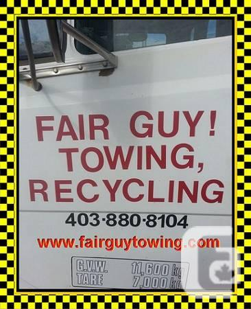 FAIR GUY! Towing, Recycling Services