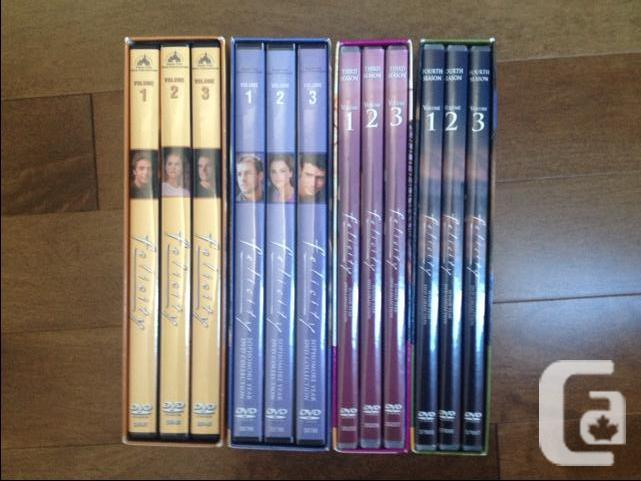 Felicity, TV series on DVD