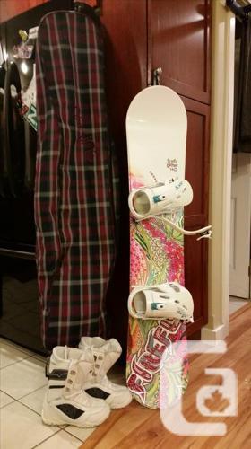 Females board equipment