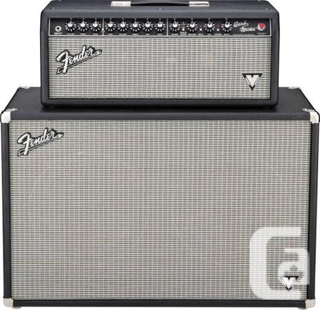 Fender Bandmaster VM - (Head with 2x12 Cab) Guitar Amp