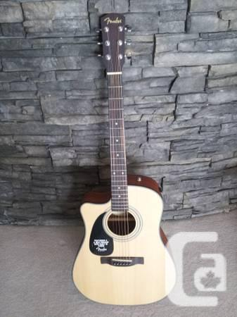 Fender Lefty Acoustic Guitar - Practically New / Barely