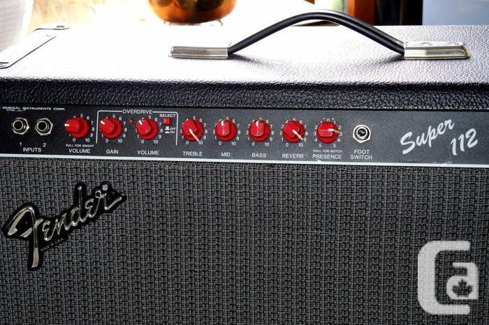 Fender Super 60 watt tube amp