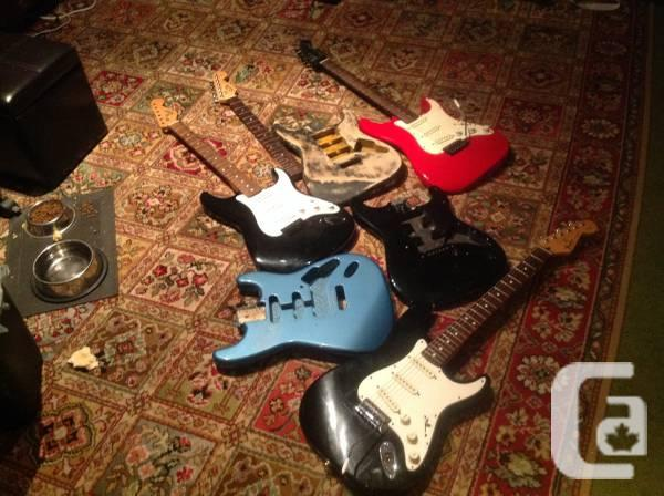 Fender, Tokai, Squier project guitars and bodies - $575