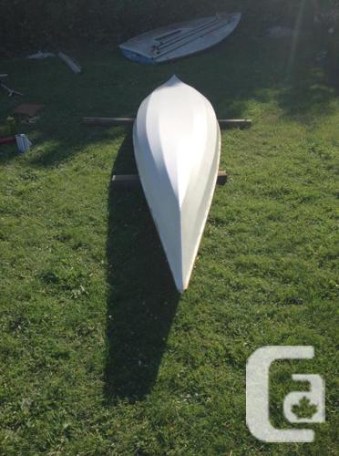 Fiberglass over wood tandem kayak, 250 obo for sale in