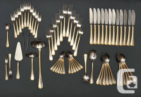 Fine Dining Flatware Set by Bestecke Soligen (Germany)