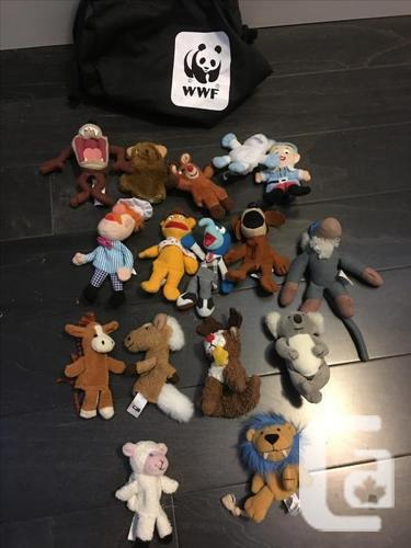 Finger Puppets (16): Muppets, Lion King, Rudolph