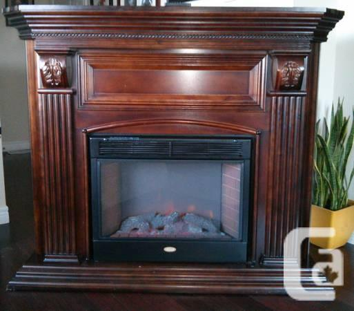 Fireplace Oversized Electric Solid Wood W Remote For Sale In Kitchener Ontario Classifieds