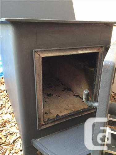 Fisher Baby Bear Wood Stove in Telegraph Cove, British Columbia for ...