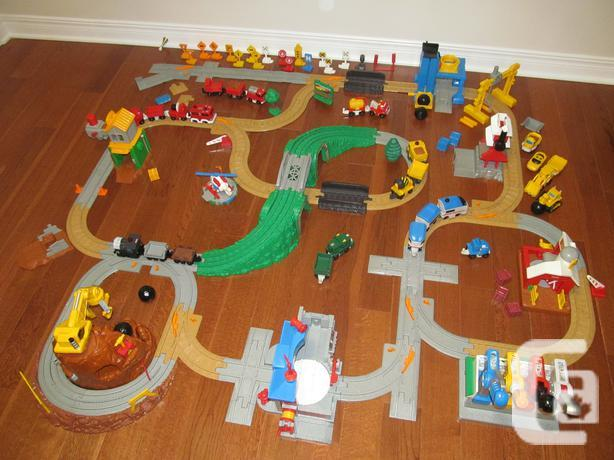 FISHER PRICE GEOTRAX (LIKE NEW)