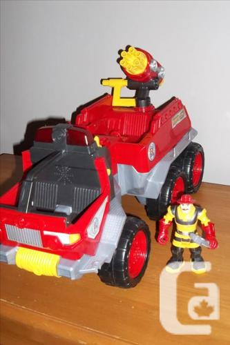 Fisher-Price Hero World Rescue Heroes Fire Truck RHFD