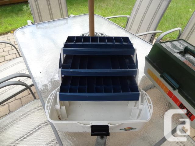 Flambeau 3 Tray Fishing Box - Used but Ok
