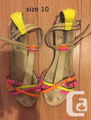 flat/sandal/shoes size 10 $10 per items