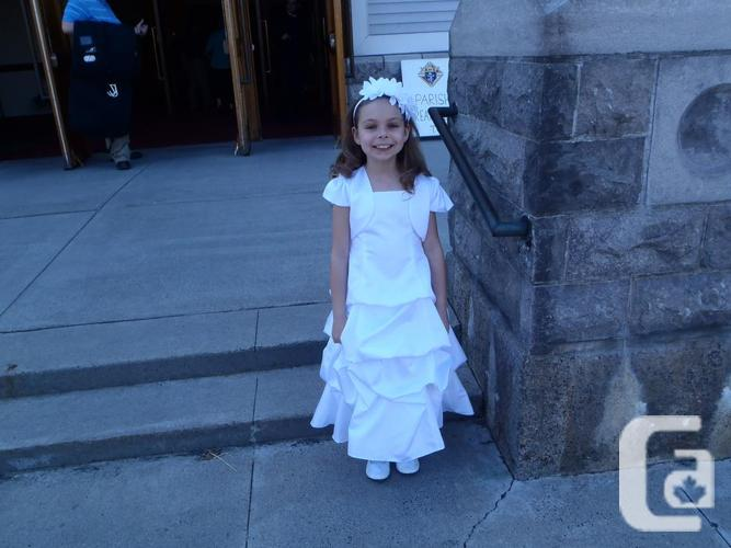 Flowergirl Costume or bright Communion Size 4 Purchased