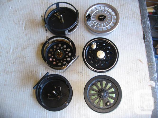 Fly fishing reels 038 2108 for sale in saanichton for Fly fishing reels for sale
