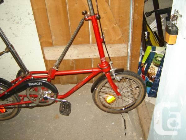 Folding bikeDAHON , one speed / DAHON Velo pliable, une