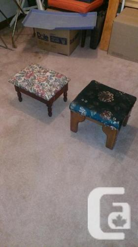 Footrests available
