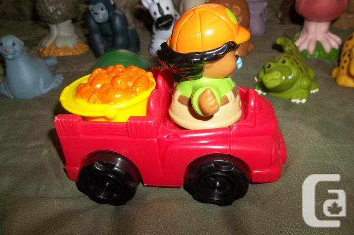 for 19 pieces! Jungle and zoo animals from Fisher price