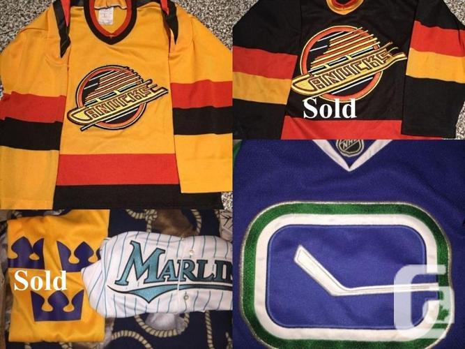 For Sale: 1980 & 90's NHL CCM Hockey Jerseys