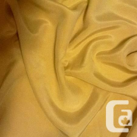 for PROM & GRADUATION DRESS PURE SILK FABRIC, natural