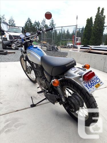For Sale 1973 Honda xl350
