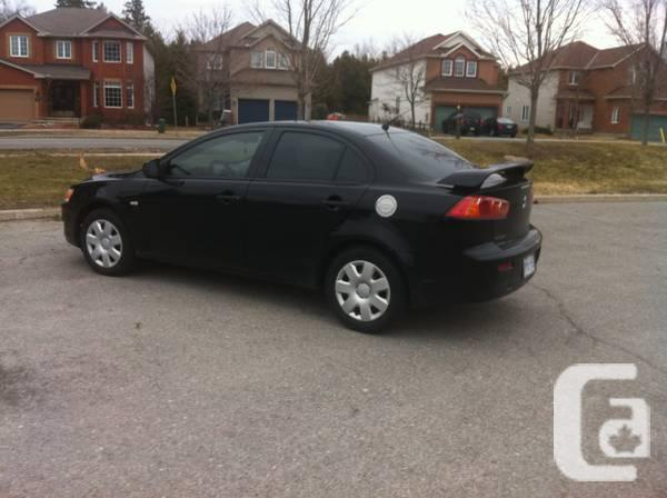 for sale 2009 mitsubishi lancer de for sale in ottawa ontario classifieds. Black Bedroom Furniture Sets. Home Design Ideas