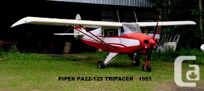 FOR SALE PIPER PA22-125 TRIPACER for sale in Fort Fraser