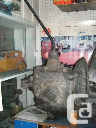 Ford Flathead V8 4 Speed Manual Transmission For Sale In Kamloops British Columbia