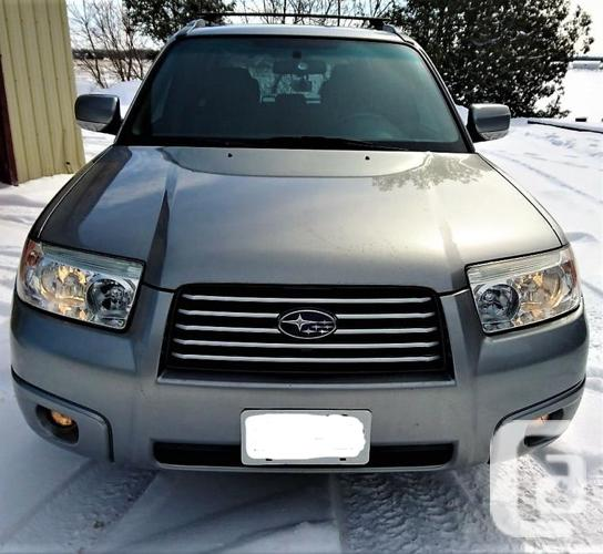 FORESTER LIMITED LOADED LEATHER ROOF
