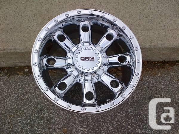 Four New 17 Quot Chrome Orm Wheels 6x139 7 Gm Escalade